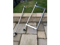Fiat Scudo roof bars and roller