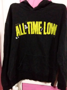 All Time Low hoodie, size L