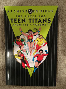 DC ARCHIVES SILVER AGE TEEN TITANS VOL. 1