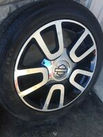 "22"" Ford F-150 Harley Davidson wheels and tires"