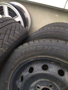 fiat 500 tires winter with rims