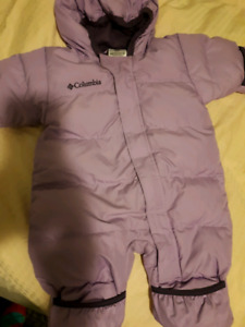 Columbia girls 6 months snow suit