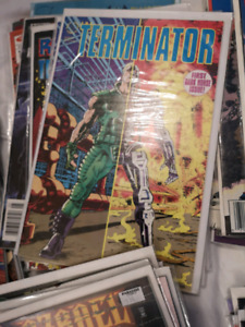 Large lot of comics old and new