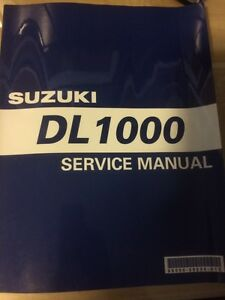 2002 Suzuki VStrom DL1000 Service Manual