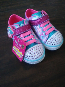 Light Up Girls Skechers Shoes
