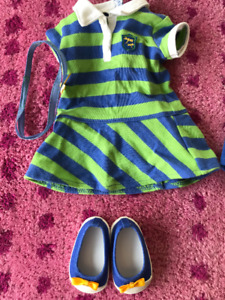 American Girl: Lanie's outfits and accessories