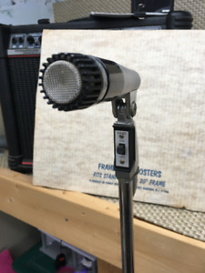 Shure 5455 Series 2 Microphone. Tested  Atlas Chrome stand #7210