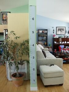 Custom Made Growth Chart Peterborough Peterborough Area image 2