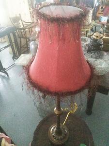 LAMPE DE CHEVET VINTAGE LAITON