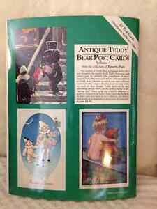 Antique Teddy Bear Postcards & Teddy Bear Paper Doll Gift Wrap London Ontario image 2