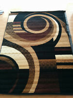 5 x 8 Brand New Area Rug Carpet Modern Swirl design