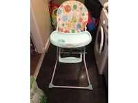 baby's high chair cosatto