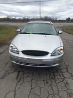 2003 Grey Ford Taurus Wagon with only 57,560 KM! Seats 8!