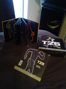 "T25 get it done ""Beachbody"" 10 disc workout dvds"