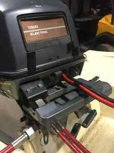 1995 Yamaha T9.9ELRT Remote, Electric Long Trade for Short Shaft London Ontario image 3