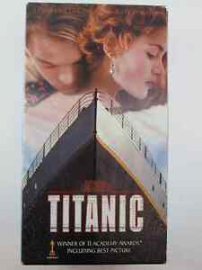 Titanic 2 Tape VHS Set In Like New Condition
