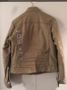 MUST SELL: BLAND NEW ENERGIE MENS LEATHER JACKET West Island Greater Montréal image 2