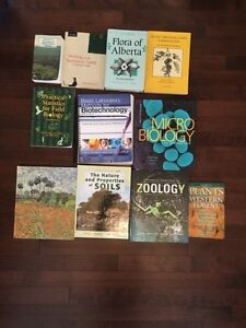 First year biological sciences text books