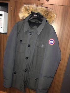 Manteau hiver en duvet pour homme Canada Goose NEUF