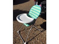 Mothercare folding highchair