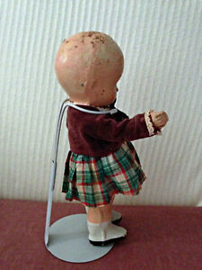 "Reliable 8"" Composition 'Standing Doll!' circa 1945 London Ontario image 6"
