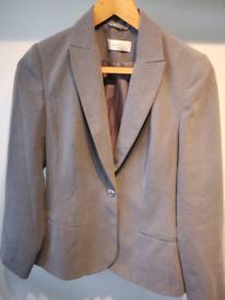 Grey blazer by Wallis