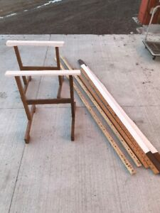 ANTIQUE QUILTING RACK /FRAME /STAND