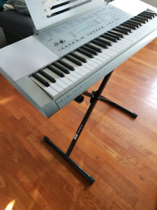 Piano Casio LK-280 & 2 Stands for Sale