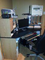 Computer desk -  Corner unit