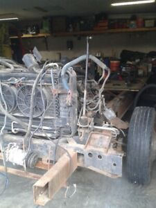 P30 motor home frame with 454