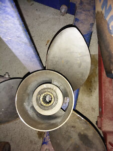Stainless propeller