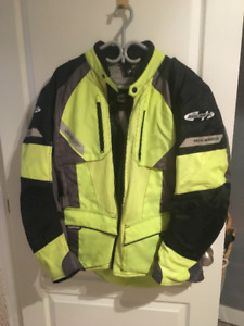 "Lighweight ""Joe Rocket"" Motorcycle Jacket"
