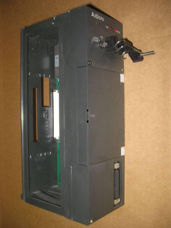 Mitsubishi A2UCPU Melsec CPU Module PLC 512 IO 14K Net 10 Central Processor Unit