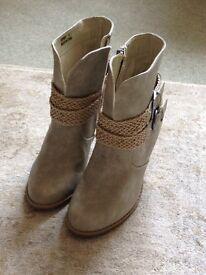 Brand new Joe Brown ladies suede ankle boots