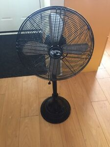 "Hampton Bay 18"" Cooling Floor Fan Black Kitchener / Waterloo Kitchener Area image 1"