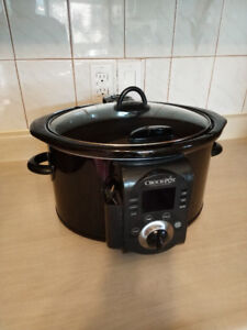 6-Quart Crock Pot (Smart-Set) Slow Cooker