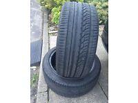New nankang tyres 255/40/18