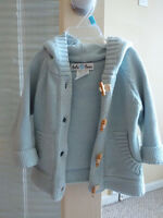 Baby Boy #Beba Bean# 6-12months clothes Knit Hoodie