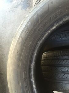 4 Michelin pilot 225/55/16 all season 80% tread  Kitchener / Waterloo Kitchener Area image 5