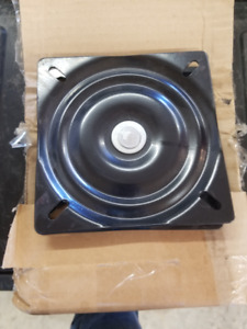 NEW 4 Swivel Chair Plates 6 1/2""
