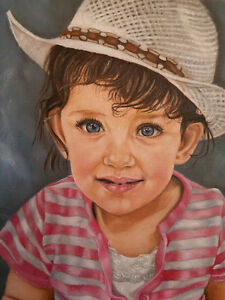Oil Portraits At Your Request, For You Or A Loved One