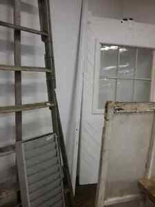 Wooden ladders, harvest tables, sap pails, watering cans, doors  Cambridge Kitchener Area image 2