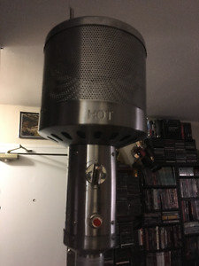 For Living Stainless Steel Patio Heater, 45 000 BTU Missing Top