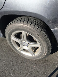 Mercedes GLK 17 inch Winter tires and Rims for Sale GTA