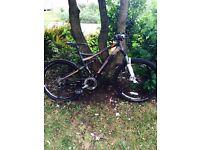 Ktm mountain bike full suspension
