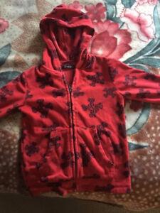 George red hoodie size 4