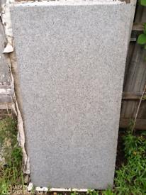 Imitation granite porcelain tiles