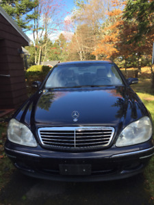2002 Mercedes-Benz S-Class 430 AMG Sedan