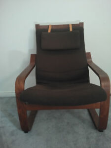 Comfy Arm Chair with foot rest