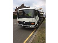 Mercedes Benz Atego 2002 Tail and slide White Recovery truck cheap